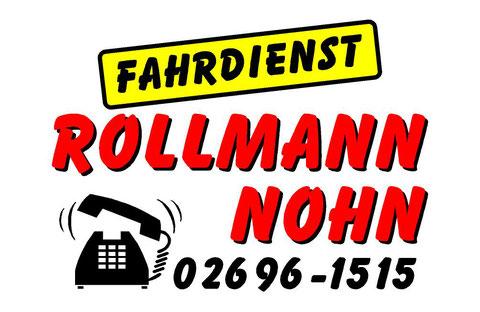 Taxi - Fahrdienst Rollmann, Hauptstr.15, 54578 Nohn