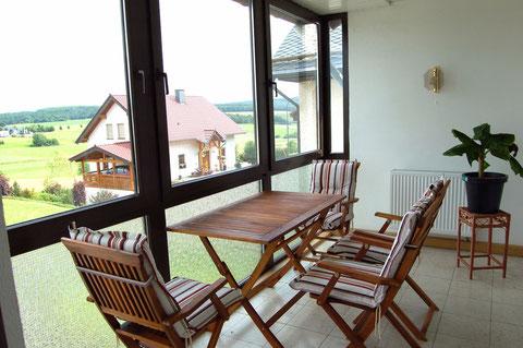 Wintergarten - Balkon