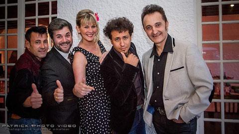 avec Thierry, Alexandre Chassagnac, Julien Bonnemain et Olivier Cantore (Bordeaux 2016)