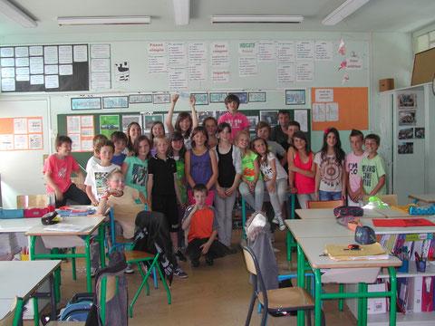 Les élèves de l'école Jules Simon