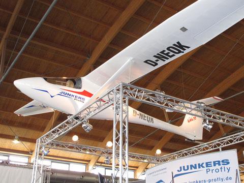 Ultraleicht-Segelflugzeug Banjo von Junkers Profly aus Kulmbach. Foto: jkob