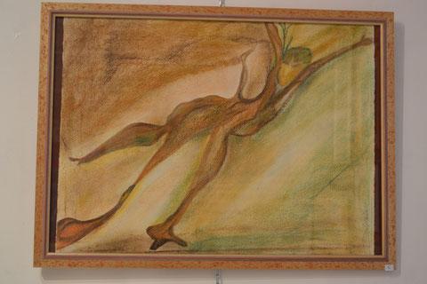 même les vielles souches et branches des arbres mort ,ont une vie dans le regard d'un artiste