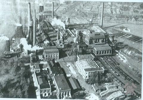 Schachtanlage S & E ca. 1920