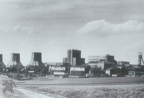Schachtanlage S & E (ca. 1950)