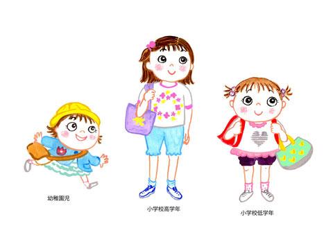 女子 幼児〜学童