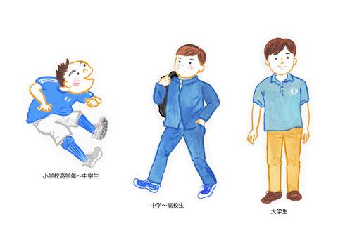 小学校高学年〜大学生