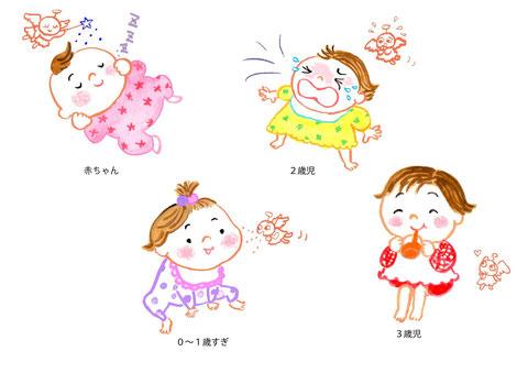 女の子 乳幼児