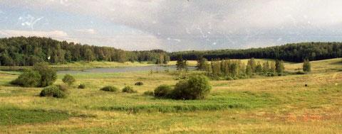 2003 г июль Роминтен озеро