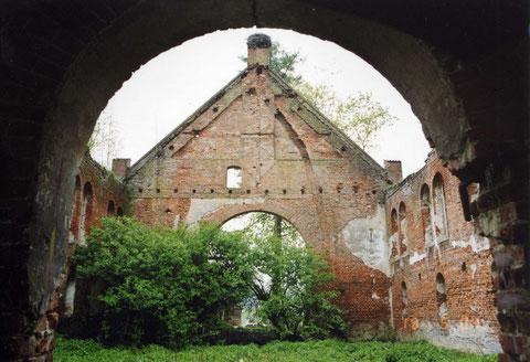 2007 Gr. Rominten - п. Краснолесье. Руины кирхи.