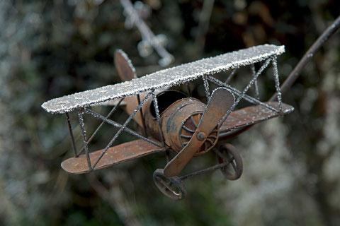 Vereisung bei Flugzeugen - sehr gefährlich  ©Luftbildfotografie Neuburg
