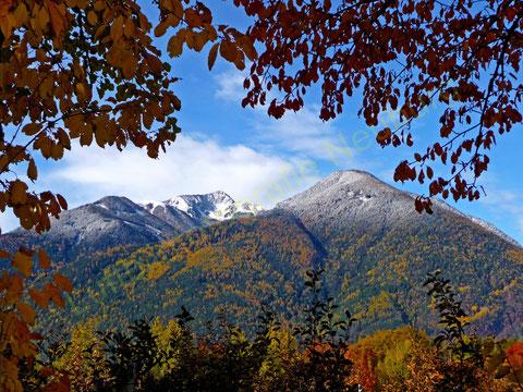 Ende Oktober sind die Berge schon manchmal überzuckert