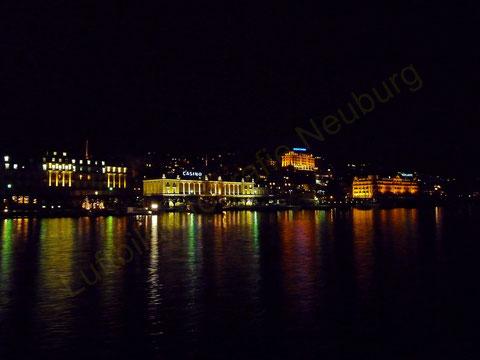 Luzern von der Seeseite aus
