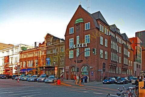 Die Davidswache in Hamburg    ©Luftbildfotografie Neuburg
