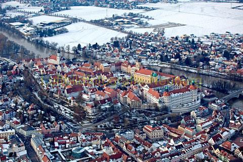 Neuburg am Hl. 3 Königstag 2014     ©Luftbildfotografie Neuburg