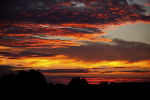 Irgendwo ist die warme Sonne   ©Luftbildfotografie Neuburg