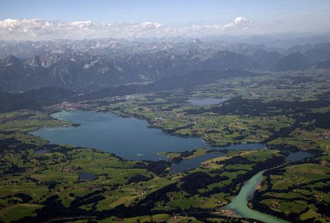 Forggensee     ©Luftbildfotografie Neuburg