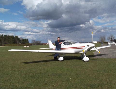 Luftaufnahmen mit einem Ultraleichtflugzeug