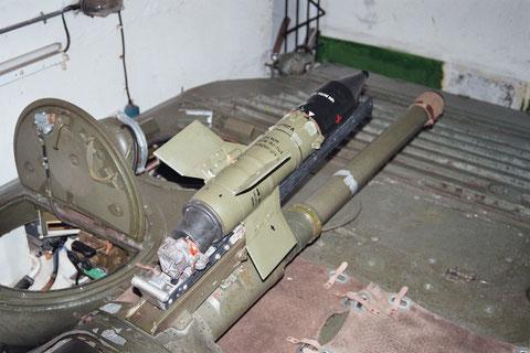 die PALR  9M14 unseres BMP in Drewitz