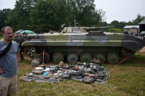 Der BMP u. seine Ausrüstung