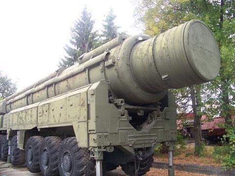 RSD - 10 Pionier bzw. SS - 20 Sabre. Im heißen Krieg wäre das das Ende Westeuropas gewesen. Und natürlich unseres auch. Sind wir froh das alles nur im Museum steht!