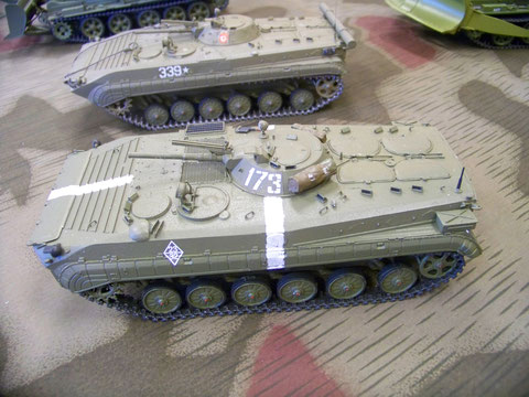 Großenhain 2018: BMP - 1 A, wie er von der Sowjetarmee 1968 beim Einmarsch in die CSSR genutzt wurde.