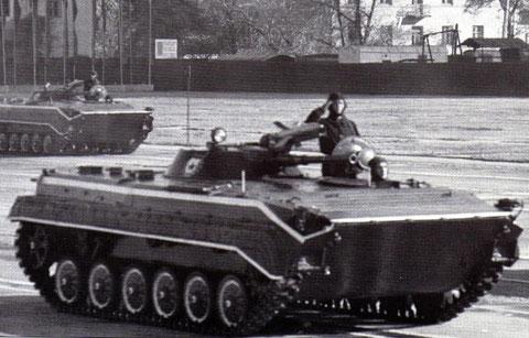 BMP 1 A, nicht in die NVA eingeführt, aber in die polnische Volksarmee.