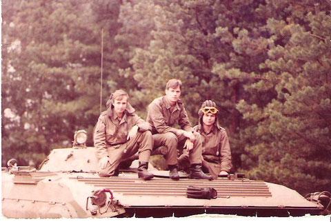 """Das waren wir. 1974-77, in Weißkeisel an der Uffz.Schule 1 der LASK ´"""" Rudollf Egelhofer"""" Fachr. Mot.Schützen"""