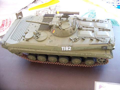 Der SPZ BMP-1 P. Mit rohrverschießbarem Lenkflugkörper  / PALR