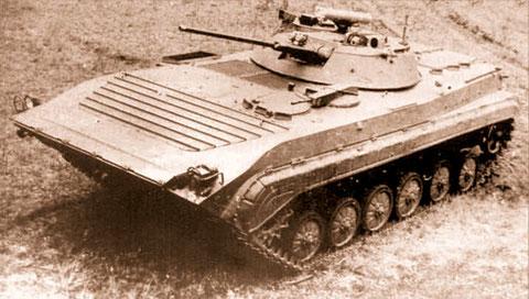 Objekt 675 von 1974, schon mit 2-Mann-Turm, Vorläufer des BMP-2