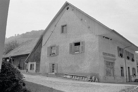 Noch bis ca. 1978 in Betrieb: Das Lädeli der Schwestern Flora und Ida Brogli.