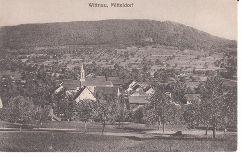 Eine Lichtdruck-Karte von ca. 1910 aus dem Verlag Metz, Basel.