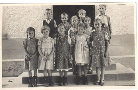 Die 3. Klasse der Unterschule im Jahr 1942 (Foto: Hedwig Meier)