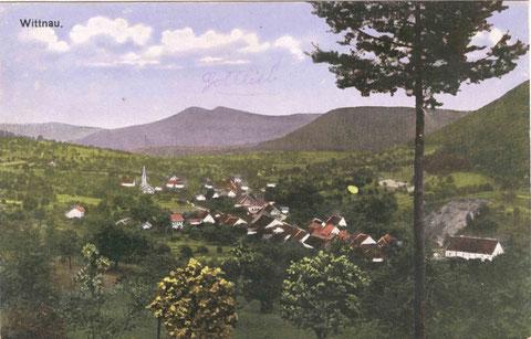 Colorierte Ansicht vom Limperg her (Photographische Gesellschaft J. Buchmann & Cie. Olten, um 1915)