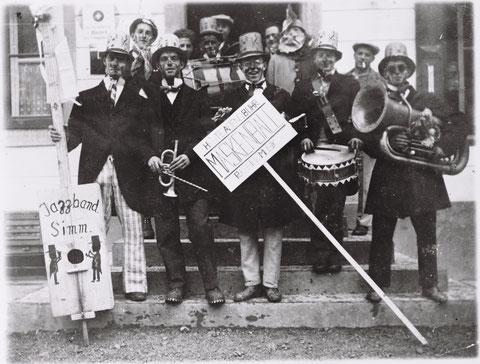 Jazzband Simm (Fasnacht, ca. 1934)