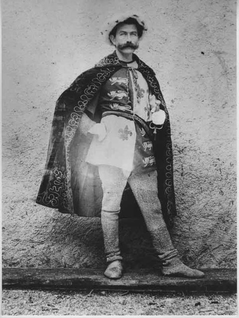 Theaterheld (um 1905)