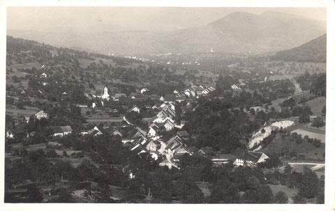 Postkarte, abgestempelt am 23. August 1940 (Die Aufnahme stammt von ca. 1935.)