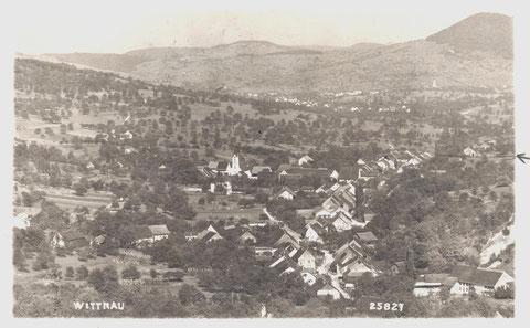 Ansicht vom Limperg (Postkarte gestempelt 1934)
