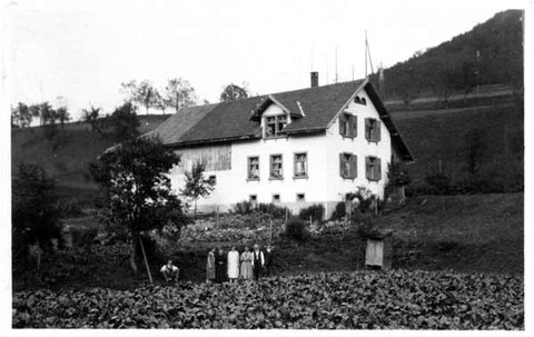 Familie Frey (Foto A. Leoni, Laufenburg) 1928