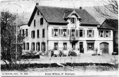 Die «Krone» 1908 (A. Trüb & Co., Aarau)