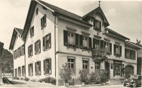 Die «Krone», ca. 1940 (Edition Guggenheim, Zürich)