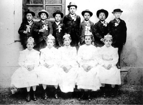 Erstkommunikanten 1905