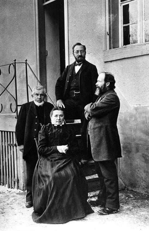Die Wittnauer Lehrerschaft 1902