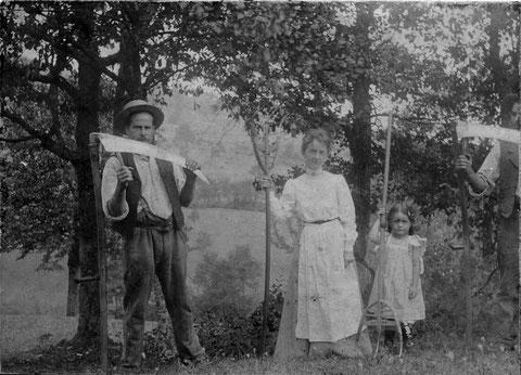 um 1906 (Foto: Karl Fricker, Turnlehrer, Aarau)