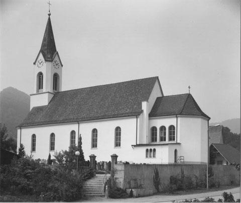 Die Kirche im Jahr 1984 (Foto: Schmid, Frick)