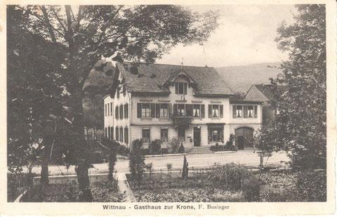 Die Krone um 1920