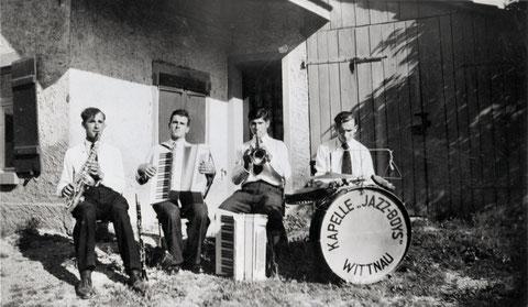 """Die Tanz-Kapelle """"Jazz-Boys Wittnau"""""""