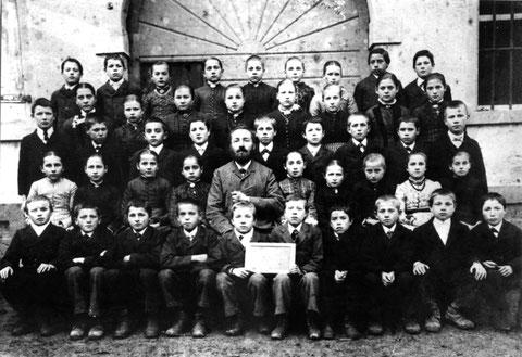 Fortbildungsschule 1891, Lehrer: Emil Beck