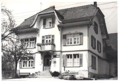 Die alte Post (ca. 1965?)