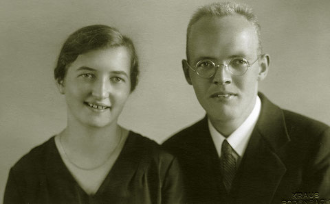 Meine Eltern Margret Siebert geb. Hebel und Pfarrer Heinz Martin Siebert