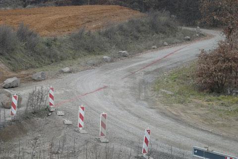 Grenzverlauf Nordring/Landesgrenze